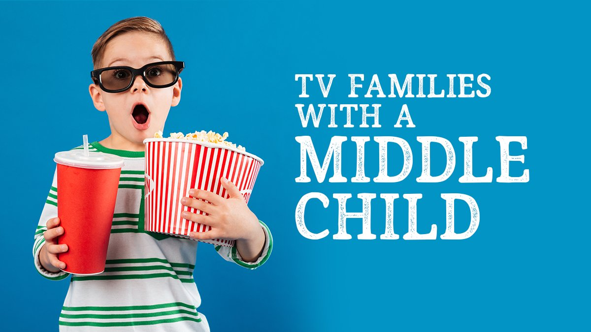 TV families with a Middle Child