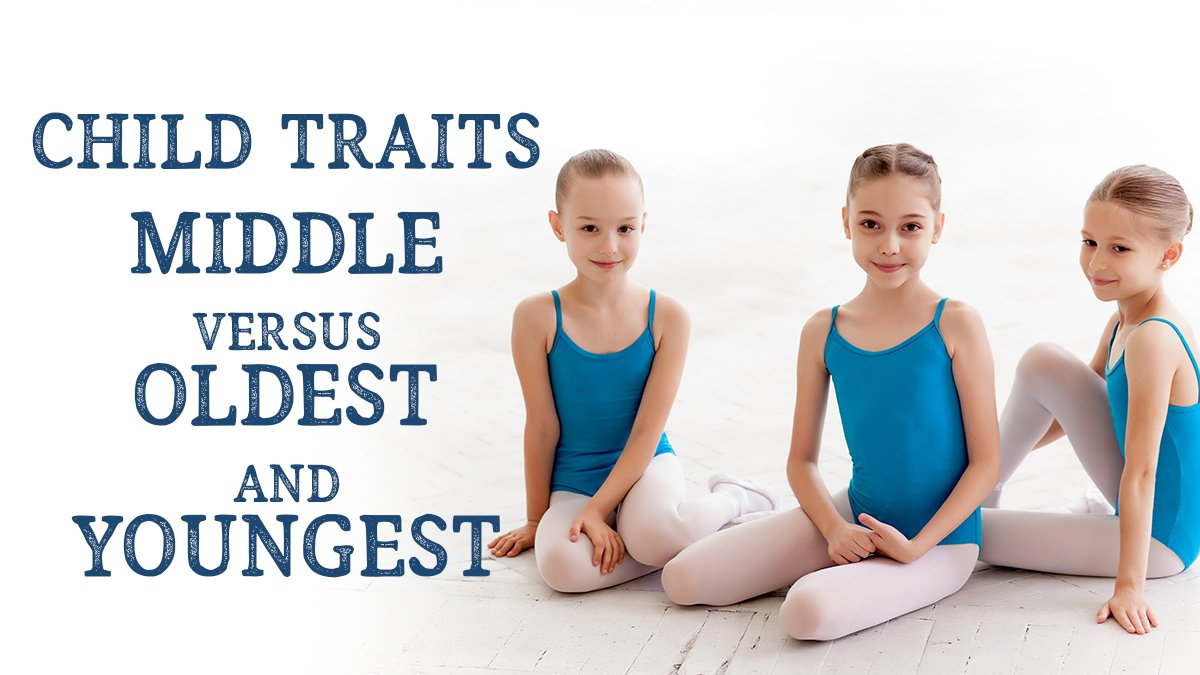 Child Traits Middle vs Oldest and Youngest
