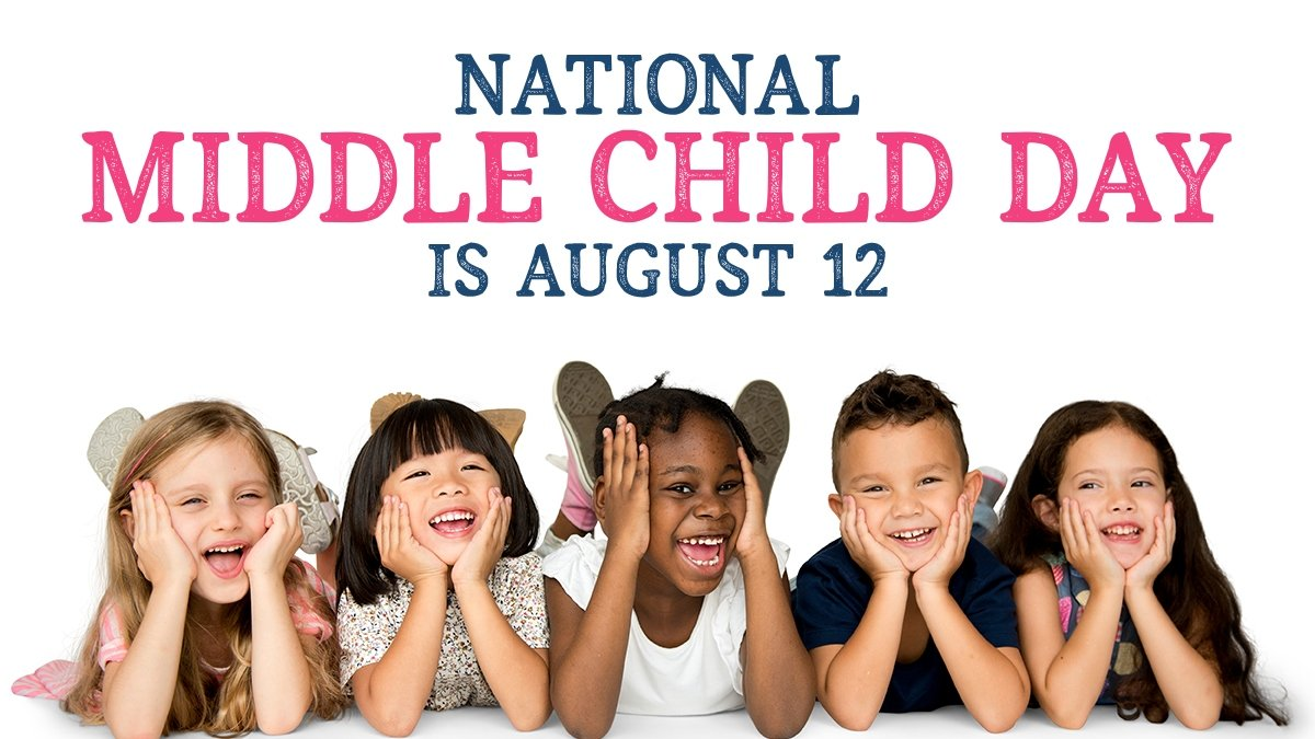 National Middle Child Day is August 12